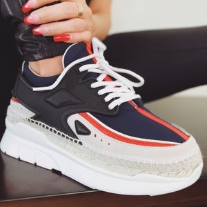 Kenzo Paris K- Lastic Espadrille Sneakers